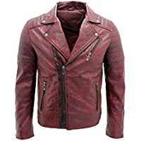 Which is the Best Burgundy Leather Jacket For Men to Buy - Magazine cover
