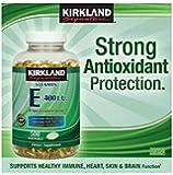 Kirkland Signature Vitamin E 400 IU, 500 Softgels (Pack of 2) (Total of 1000 Softgels)