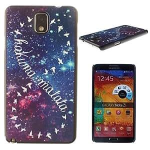 MOFY- la gallina de 8 pattern pc estuche r'gido salvaje para Samsung Galaxy Note 3