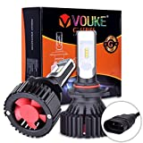 G+ 9005 HB3 High beam headlamp Fog Driving Light 8000 Lumens With Extremely Bright Phi ZES AEC Chips All-in-One LED Headlight Conversion Kit Halogen Head light Replacement 6500K White-1 Yr Warranty