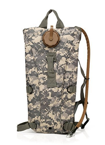 US Army 3L 3 Liter (100 ounce) Hydration Pack Bladder Water Bag Pouch Backpack Hiking Climbing Survival Outdoor