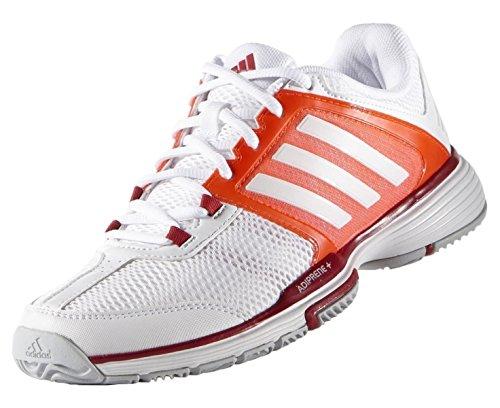 Femme Team Adidas Chaussures 4 Blanc Tennis De Barricade 7RUqxw6