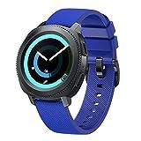 BarRan Twill Watchband Compatible with AMAZFIT Bip, 20mm Silicona Blanda liberación rápida Deporte Correa de Reloj reemplazo para XIAOMI AMAZFIT Bip/AMAZFIT Bip Lite