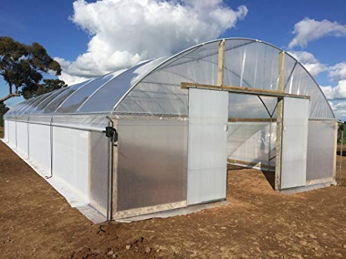 A&A Green Store Greenhouse Plastic Film Clear Polyethylene Cover UV Resistant 25 ft Wide x 32 ft Long by A&A Green Store (Image #3)