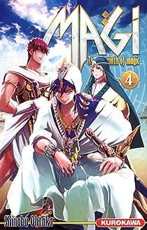 Magi - The labyrinth of magic, tome 4 par Ohtaka