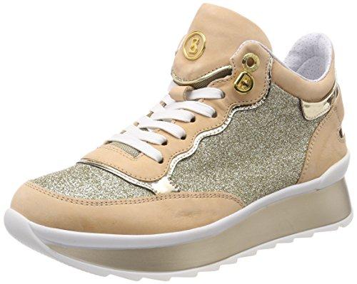 Bogner Damen Saas Fee 1j Sneaker Gold (natura / Oro)