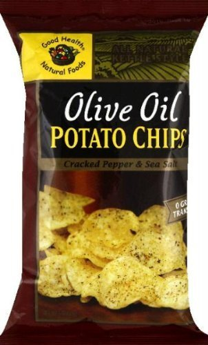 Good Health Natural Foods Olive Oil Potato Chips Cracked Pepper & Sea Salt by Goodhealth ()