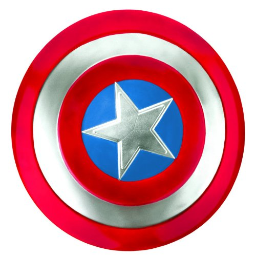 [Marvel Captain America Movie Adult Shield] (Captain America First Avenger Halloween Costume)