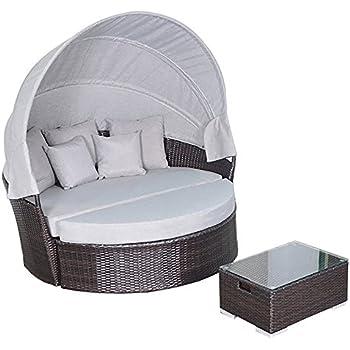 Amazon Com Outdoor Patio Wicker Furniture Pool Lounge