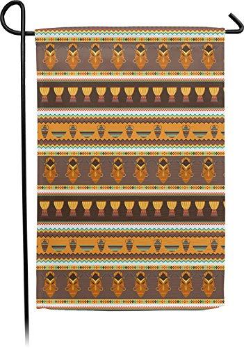 African Stripes Vase (RNK Shops African Masks Garden Flag)