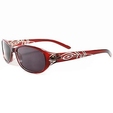 Amazon.com: Elegantes gafas de sol para mujer con cristales ...