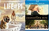 Inspiring Tales Zookeeper's Wife & The Life of Pi Double Feature Heroism