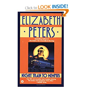 Night Train to Memphis (Vicky Bliss Mysteries) Elizabeth Peters