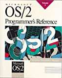 Microsoft OS-2 Programmer's Reference, Microsoft Press Staff, 1556152590