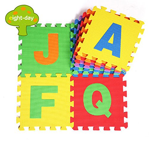 Eightday Kids Baby eva Alphabet Foam Puzzle Play Mat Play...