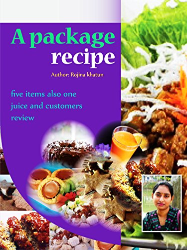A package recipe: Five items also one juice (Dessert Recipe, Moravian Ginger Cookies, Chocolate Cake, Meatloaf, Peanut Butter, Salad) - Ginger Loaf