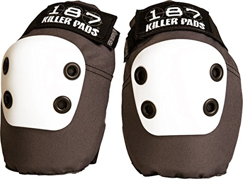 187 SLIM ELBOW PADS M-DARK GREY by 187 Killer Pads