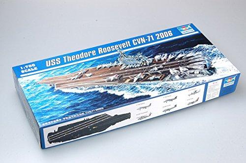 Trumpeter 1/700 USS Theodore Roosevelt CVN71 Aircraft Carrier 2006 Model Kit