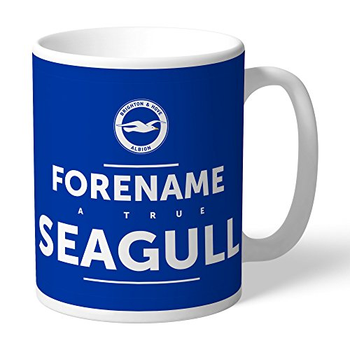 Brighton & Hove Albion Official Personalized FC True Mug - Free Personalisation