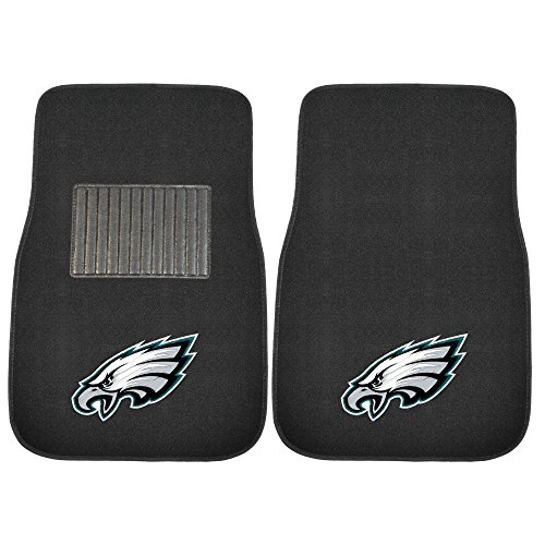 FANMATS 10350 NFL Philadelphia Eagles Embroidered Car Mat