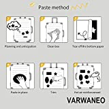 VARWANEO 156 Pcs Cute Stickers,Laptop and Water