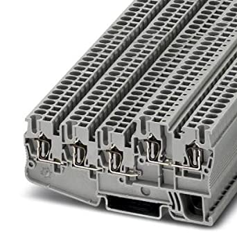 DIN Rail Terminal Blocks STIO 2 5/4-3B/L (5 pieces): Amazon