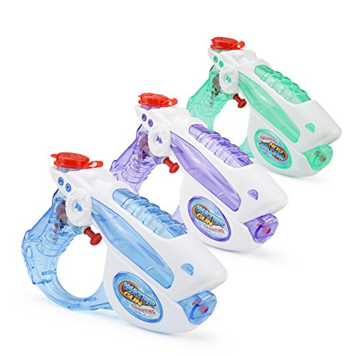 MZB Water Gun for Kids, Beach Toys(3 Pack) ()