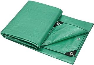 Bâche LITING Écran Solaire en Tissu imperméable épais en Plastique imperméable à la poussière Multifonctionnel Vert Anti-poussière (Taille : 3 * 4m)