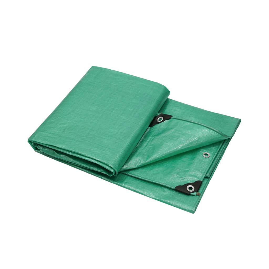 Abdeckplane LITING Regenfestes Tuch Grün Multifunktions-Staubdichtes, Dickes, wasserdichtes Kunststoff-Sonnenschutzmittel (größe   3  3m)