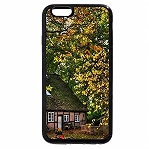 iPhone 6S Plus Case, iPhone 6 Plus Case, backyard of a house in germany in autumn
