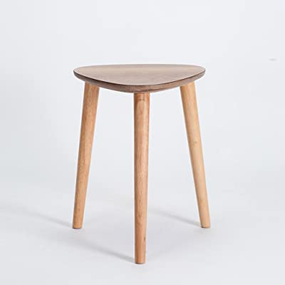 Lovely LQQGXL European Chair Creative Fashion Stool Solid Wood Home Simple Modern  Dining Table Stool Nordic Dressing