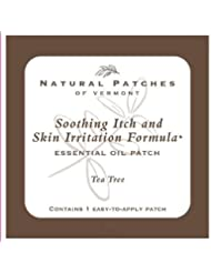 Natural Patches Of Vermont Tea Tree Itch & Skin Care Essential Oil Body Patches