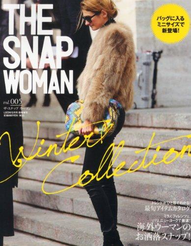 THE SNAP WOMAN 最新号 表紙画像
