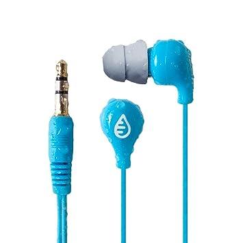Waterfi - Cable corto impermeable para auriculares, ideal para natación, ...