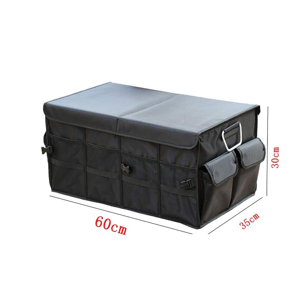Car Storage Box Car Storage Box Trunk Storage Box Multi-Function Shape Folding Car Storage Box Glove Box (Color : Gray, Size : L) by Cxp Boutiques-Car Boot Bags (Image #2)