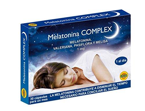 Robis Melatonina Complex Complemento Alimenticio Natural - 30 Cápsulas: Amazon.es: Salud y cuidado personal