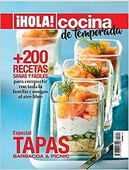 Hola. Cocina. +200 recetas sanas y fáciles: Amazon.es: Vv.Aa, Vv.Aa: Libros