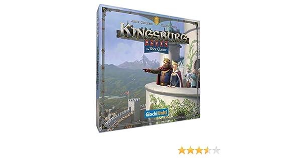 Giochi Uniti Kingsburg – Juego de Dices, Multicolor, GU642: Amazon.es: Juguetes y juegos