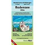 Bodensee Mitte: Wanderkarte mit Radwegen, Blatt 53-529, 1 : 25 000, Friedrichshafen, Markdorf, Salem, Uhldingen, Meersburg, Immenstaad a.B. (NaturNavi Wanderkarte mit Radwegen 1:25 000)