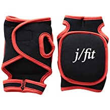 J/Fit 20-7800 Weighted Cardio Gloves, 1-Pound Each