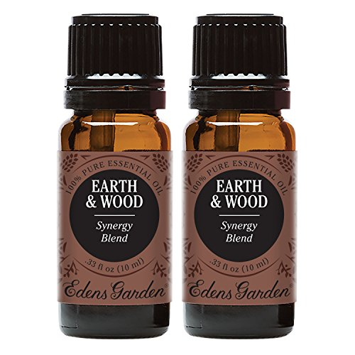 Earth Scent Value Pack - Edens Garden Earth & Wood Value Pack Synergy Blend 100% Pure Undiluted Therapeutic Grade GC/MS Certified Essential Oil (Cedarwood Himalayan, Patchouli, Cedarwood Texas, Vetiver, Vanilla)