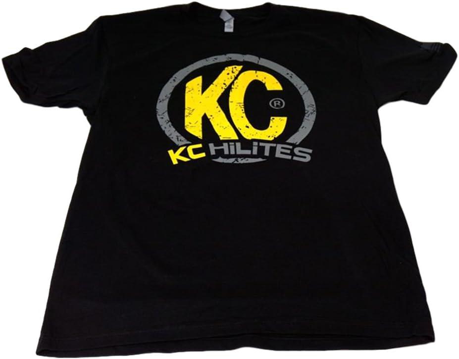 XXXL KC HiLiTES 70506 Mens Premium Black T-Shirt with KC Logo