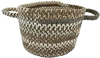 "product image for Capel Habitat Grey 0' 12"" Basket Braided Rug"