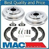 01-05 Civic 1.7L (2) Brake Drum Brake Shoes Springs Wheel Cylinders 6Pc