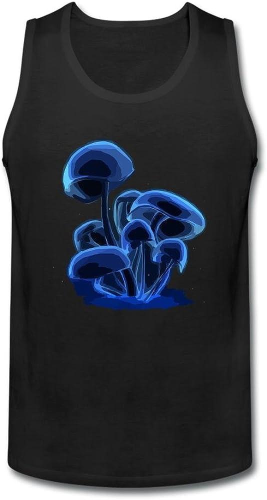 fllvxp Hombres de luz y sombra setas camiseta de tirantes 100% algodón: Amazon.es: Ropa y accesorios