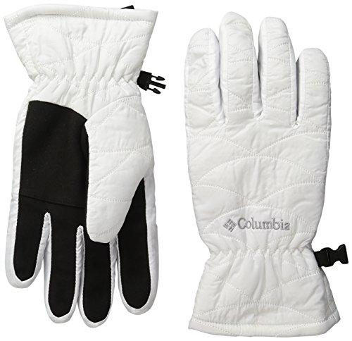 Columbia Women's Mighty Lite Gloves, White, X-Large ()