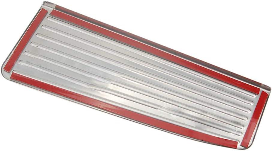 ACAMPTAR Reposapi/éS de Acero Reposapi/éS Cubierta de la Almohadilla del Pedal Muerto para Mercedes a B C e S CLS SLK Cla Gla GLK ML G GL Series Coche Styling