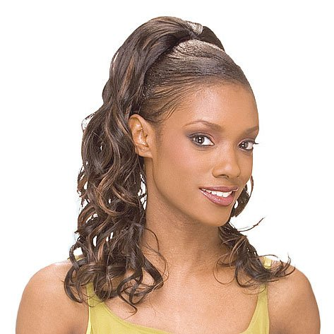 Shake-N-Go FreeTress Synthetic Hair PonyTail - Ontario Girl (Color: -