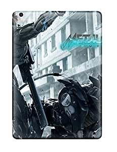 Slim Fit Tpu Protector Shock Absorbent Bumper Metal Gear Rising Revengeance 3 Case For Ipad Air
