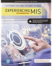Experiencing MIS, Fifth Canadian Edition, Loose Leaf Version (5th Edition)